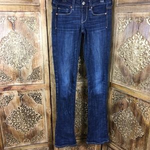 American Eagle skinny kick stretch jeans size 00
